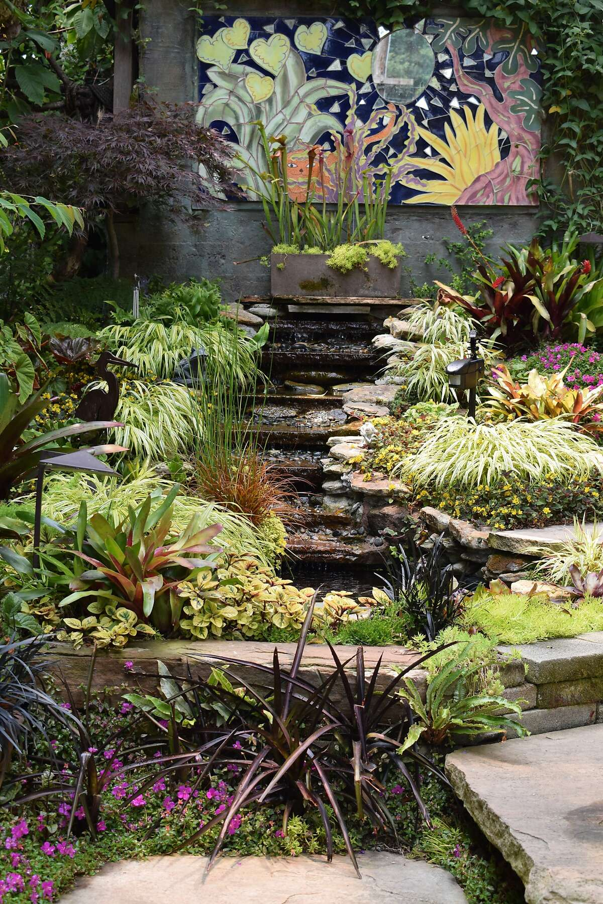 A type of small garden.