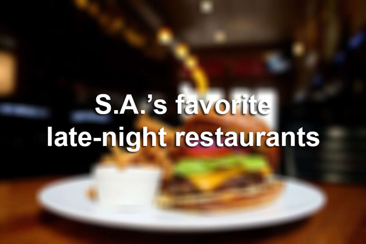Click through the slideshow to see more of San Antonio's favorite late-night restaurants.