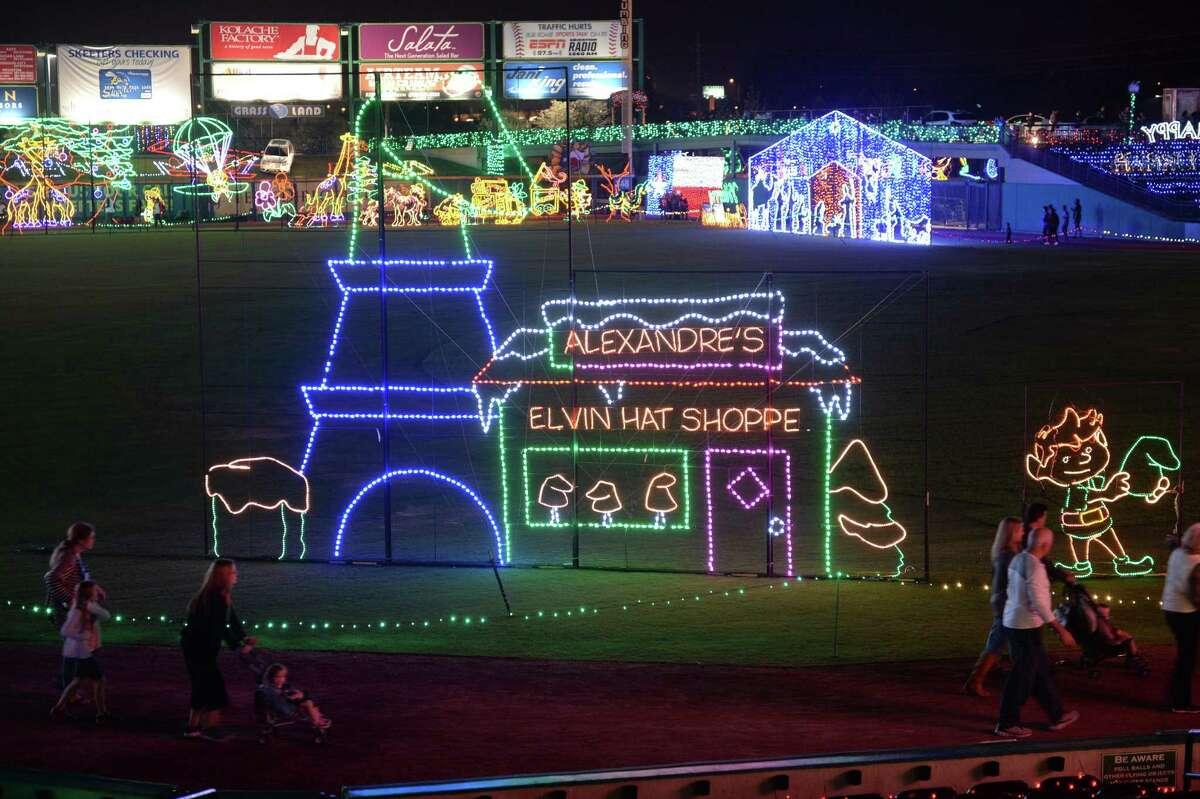 Sugar Land Holiday Lights at Constellation Field on Thursday, Dec. 2, 2017, in Sugar Land.