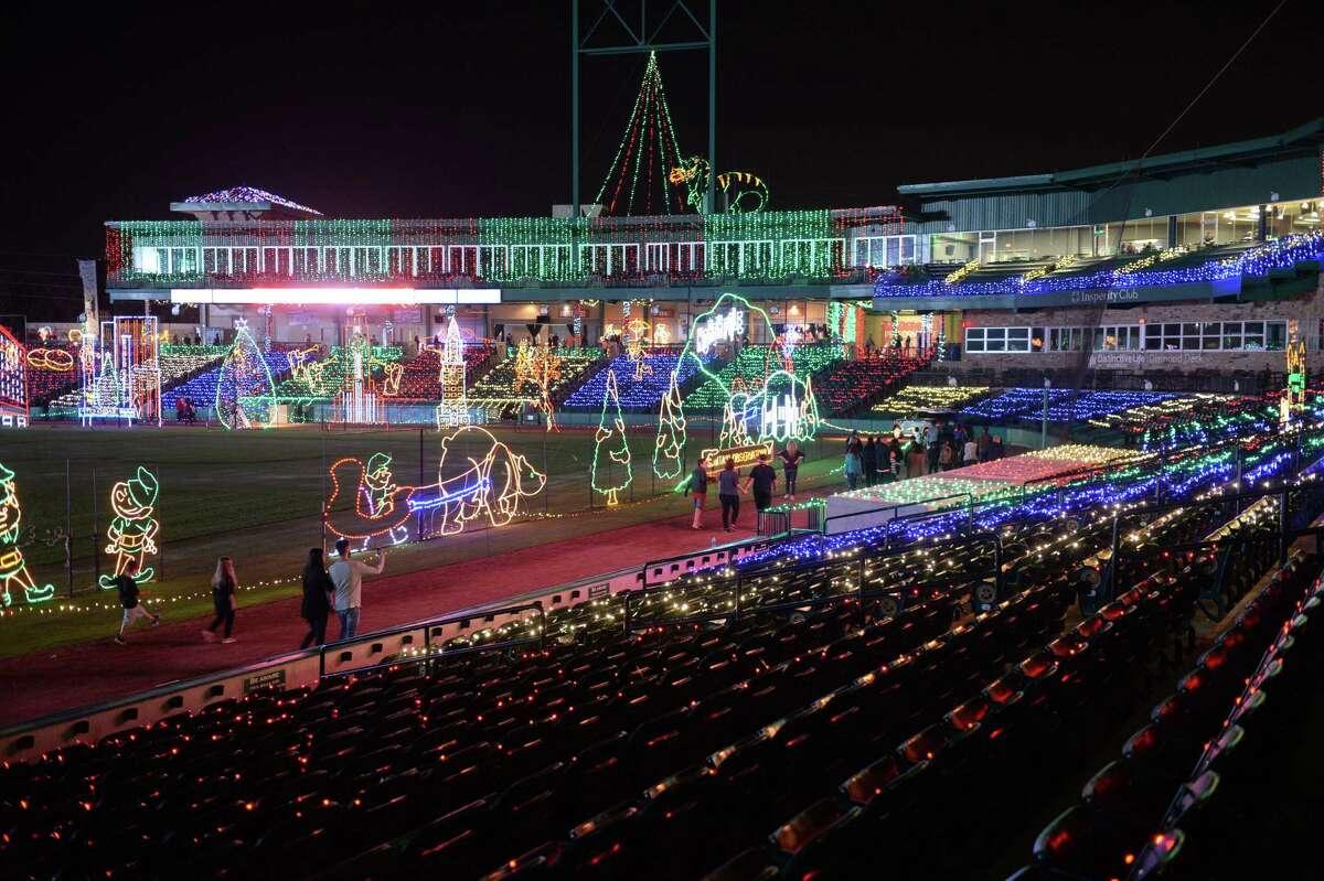 Sugar Land Holiday Lights at Constellation Field on Thursday, December 2, 2017 in Sugar Land, TX.