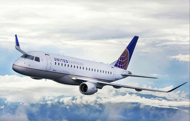 United will operate six fights a day from Paine Field to San Francisco and Denver with E175s.
