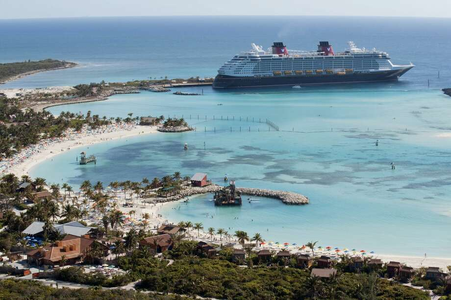 FILE -- The Disney Dream docks at Castaway Cay, Disney's private island in the tropical waters of the Bahamas, reserved exclusively for Disney Cruise Line guests. (David Roark, photographer) Photo: David Roark/David Roark