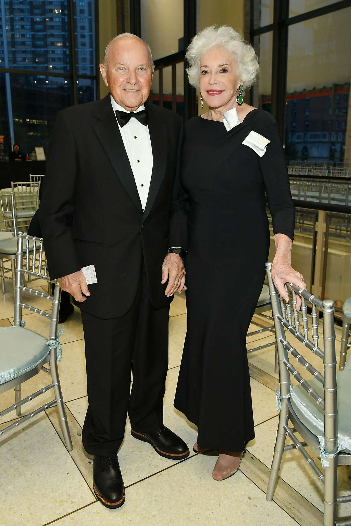 NEW YORK, NY - SEPTEMBER 20: Charles Johnson and Ann Johnson attend the New York Philharmonic's Opening Gala: New York, Meet Jaap at David Geffen Hall on September 20, 2018 in New York City. (Photo by Mike Coppola/Getty Images for the New York Philharmonic)