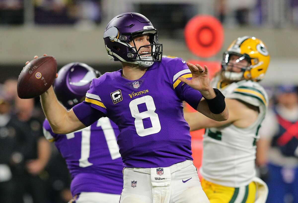 You faced Kirk Cousins last year when he played for the Redskins. How does he look in the Vikings' offense? Wagner: