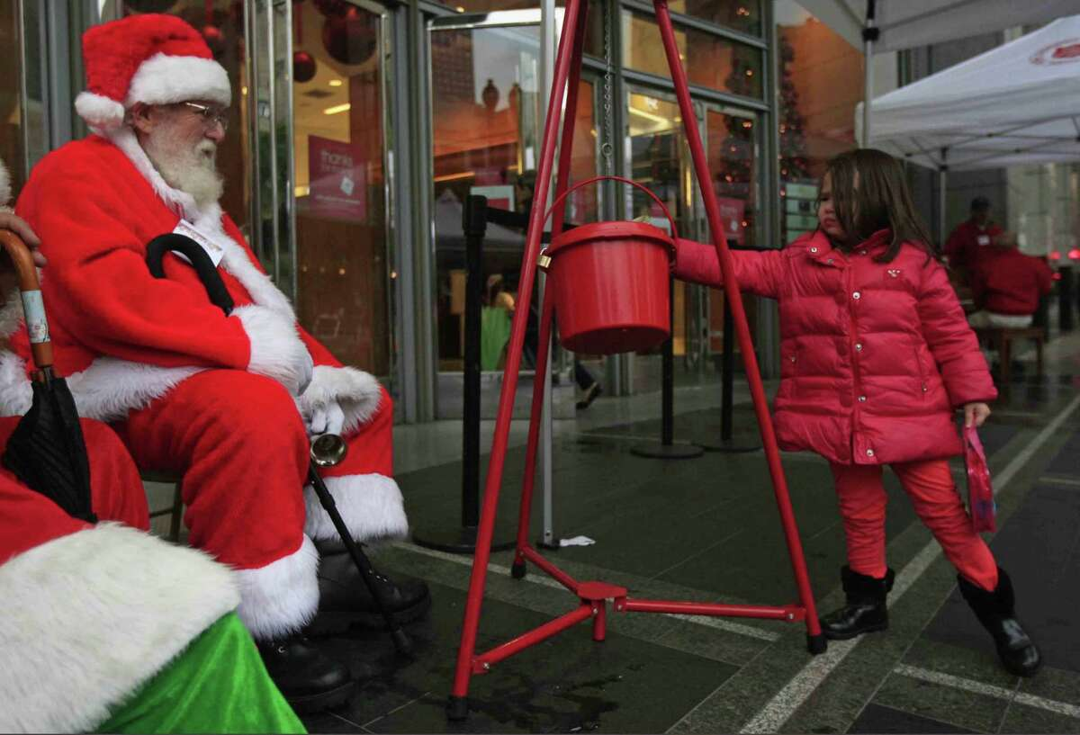 Santa Claus with his little red kettle and ringing bell is a welcome sight in the community, signaling the start of the holiday season. But, residents of the greater Woodlands area should be aware of scams.