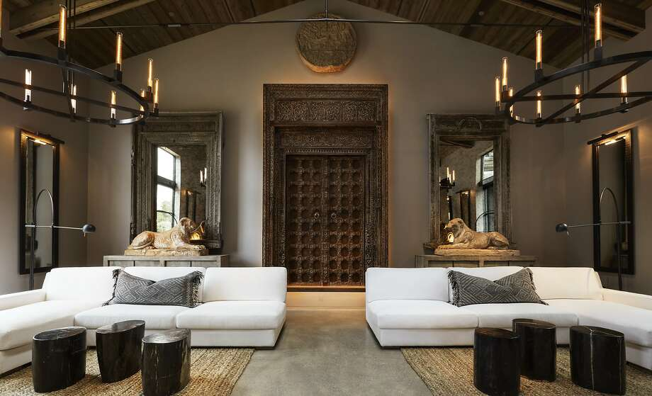 A boutique design gallery at RH Yountville. Photo: RH