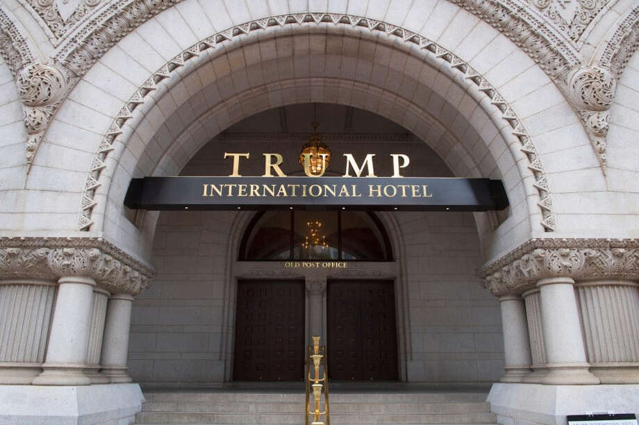 The Trump International Hotel in Washington, D.C. Photo: Washington Post Photo By Linda Davidson / The Washington Post