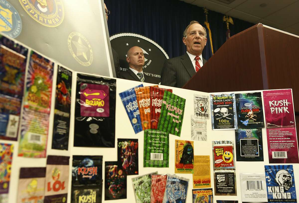 United States Attorney Kenneth Magidson announces that 9.5 tons of synthetic cannabinoid, or