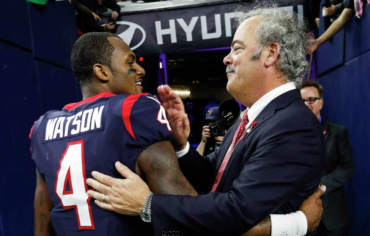 Deshaun Watson reportedly found Texans chairman Cal McNair's comments about him at a news conference to be