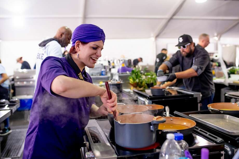 Chef Carol Koty, the dining services  coordinator at Brookdale Senior  Living in Wilton, placed 2nd in the seafood category of the 2018 World  Food Championships in Alabama. Photo: World Food Championships