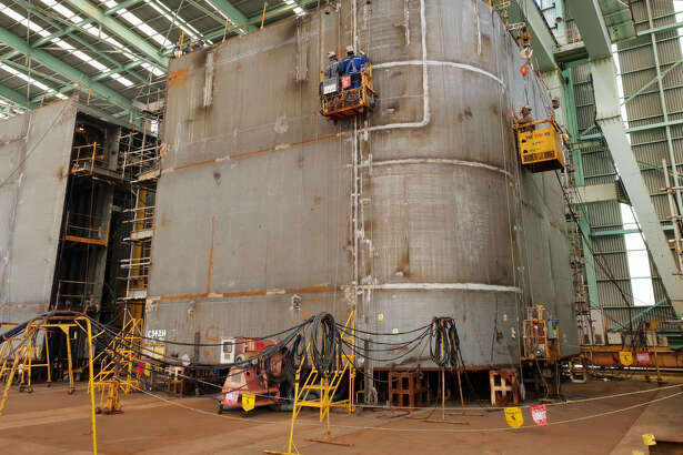 BP's new Argos platform for the deepwater Gulf of Mexico is currently under construction in South Korea.