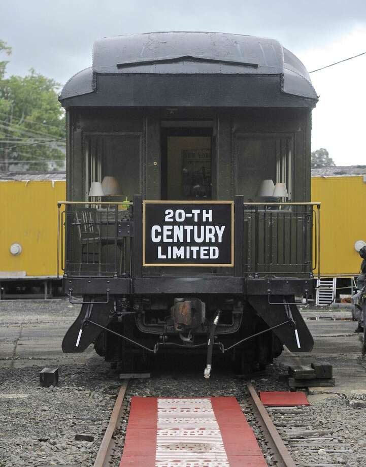 The 20th Century Limited ran for 65 years between New York's Grand Central Terminal and Chicago. The Danbury Rail Museum has restored one of its cars. Photo: H John Voorhees III / Hearst Connecticut Media / The News-Times