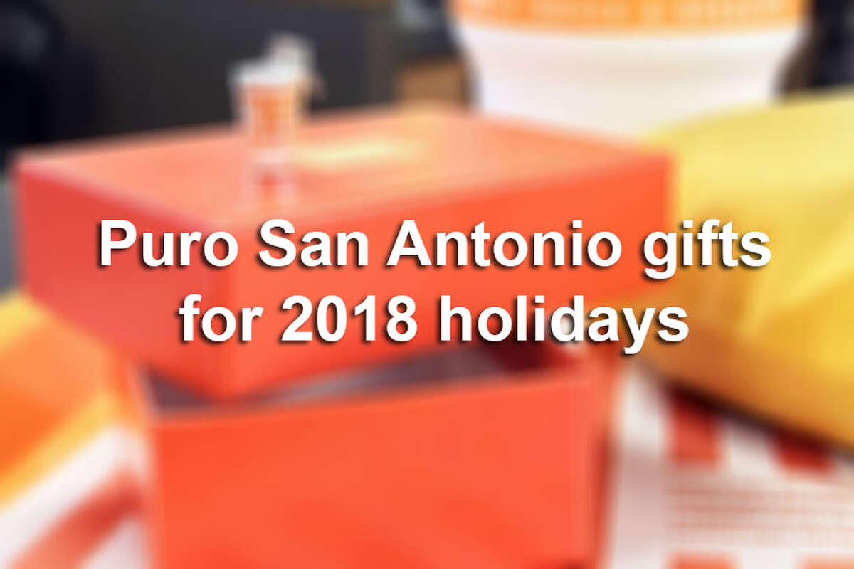 There's apparel, jewelry, leather goods and more to reflect the things San Antonio prides itself in - the Spurs, good food and good times. Check out the gallery for gift ideas and more information on where to buy them.