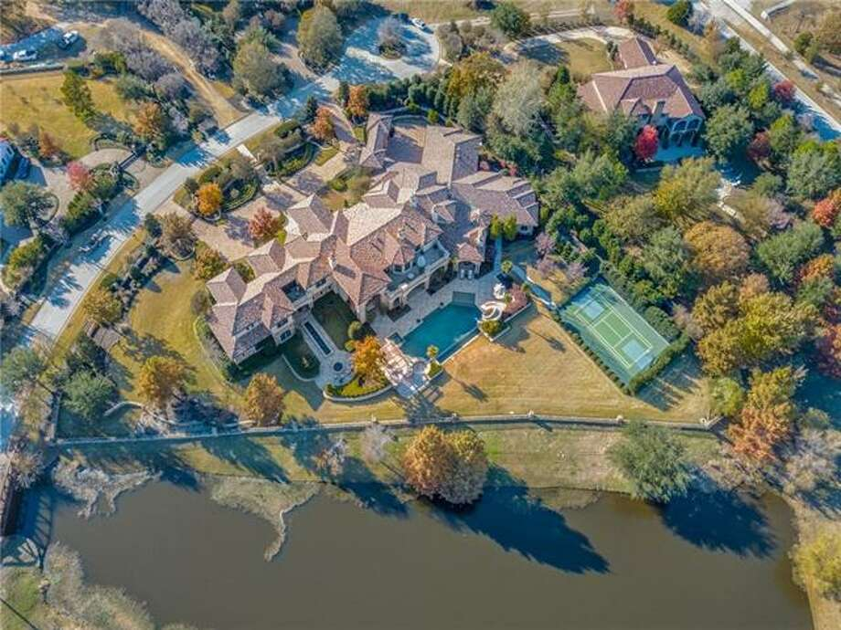 Former New York Yankees star Vernon Wells III's mansion in Westlake, Texas is a 16,238-square-foot Mediterranean-inspired villa sits on nearly 2 acres. Photo: Shoot2Sell Photography