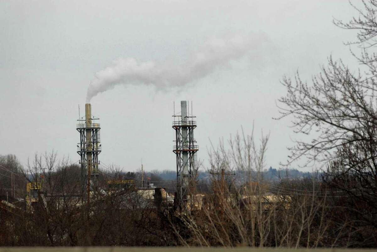 Onwers of the Norlite hazardous waste incinerator are planning a $30 million project to update pollution controls on the plant's two high-temperature kilns. (Paul Buckowski / Times Union archive)