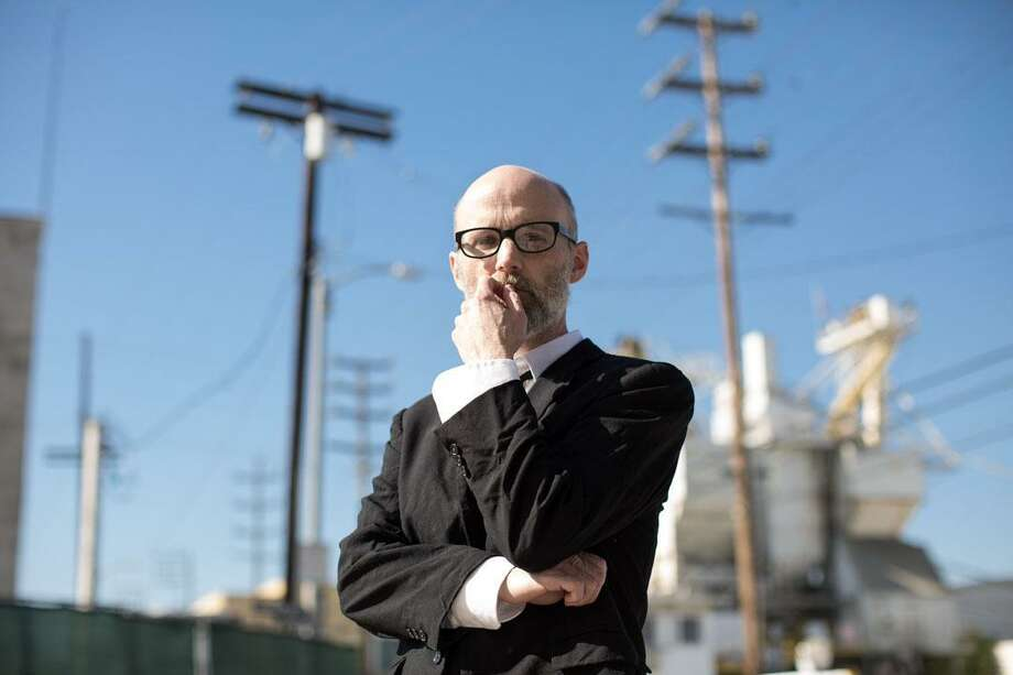 Moby will perform at the Ridgefield Playhouse on Dec. 8. The concert is a benefit for The Aldrich Contemporary Art Museum in Ridgefield. Photo: Jonathan Nesvadba / Contributed Photo