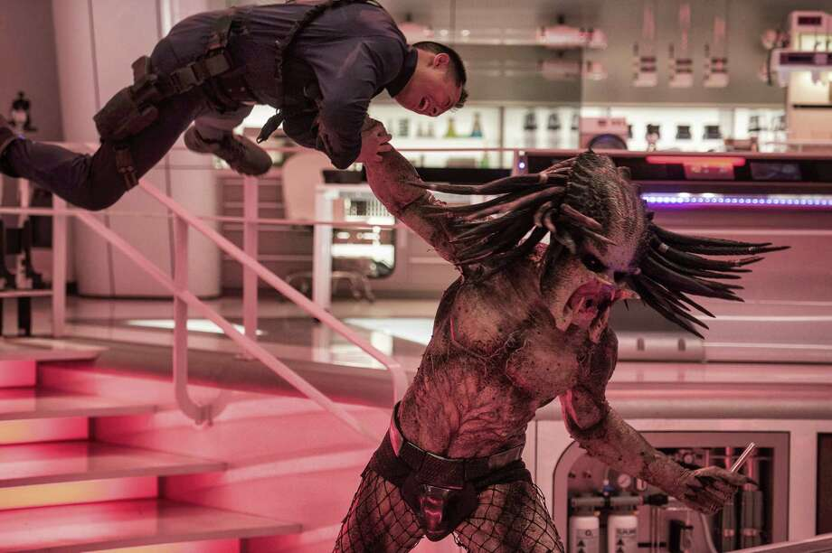 New Predator, old plot: Kill or be killed. Photo: 20th Century Fox / TM & © 2018 Twentieth Century Fox Film Corporation.  All Rights Reserved.  Not for sale or duplication.