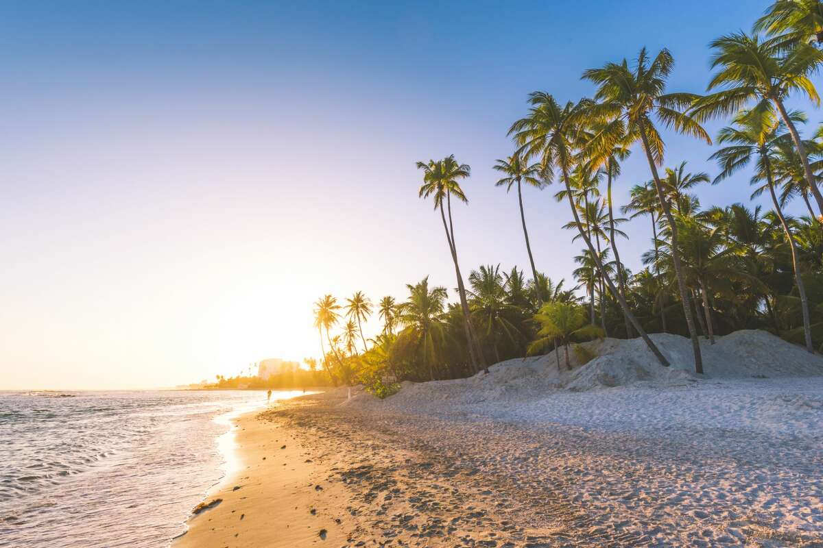 20. Bavaro Beach, Dominican RepublicUntouched beauty: 8/10Remoteness: 7/10Sand and water quality: 8/10Annual days of sunshine: 255Average annual temperature: 79 degrees