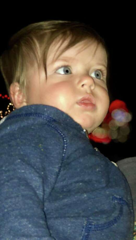 The Christmas season was ushered in this past weekend with Jasper's annual Christmas in the Park. Little Barrett was wide eyed during his first fireworks show. Photo: Andrea Whitney