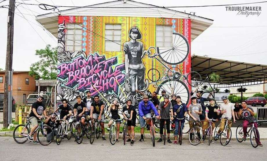 Bottom Bracket Bicycle Shop is located at 1603 North Colorado Street in the Five Points neighborhood. It was previously located in Southtown. Photo: Courtesy Of Bottom Bracket Bicycle Shop
