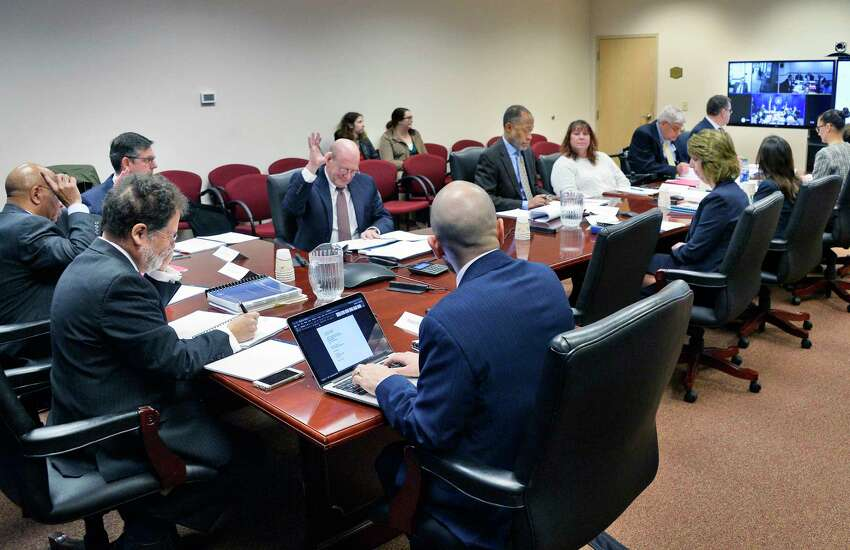 The New York State Joint Commission on Public Ethics meets Tuesday Nov. 27, 2018 in Albany, NY. (John Carl D'Annibale/Times Union)