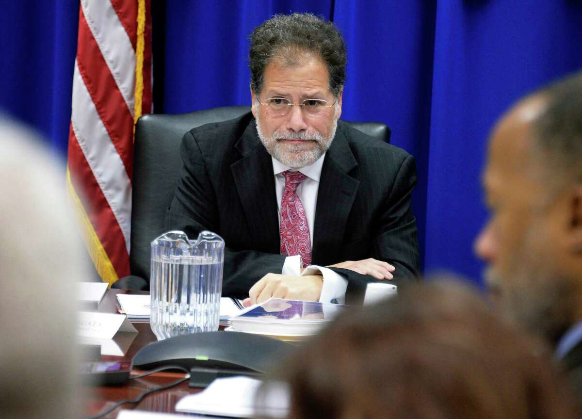 Executive director Seth Agata during a meeting of the New York State Joint Commission on Public Ethics Tuesday Nov. 27, 2018 in Albany, NY. (John Carl D'Annibale/Times Union)