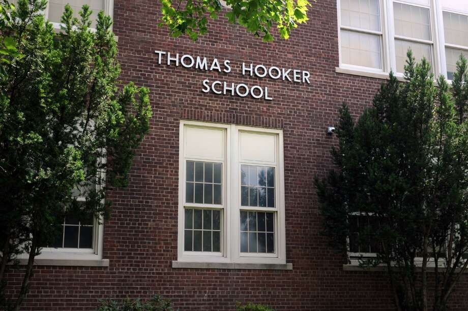 Thomas Hooker School, in Bridgeport, Conn. Aug. 25, 2016. Photo: Ned Gerard / Hearst Connecticut Media / Connecticut Post