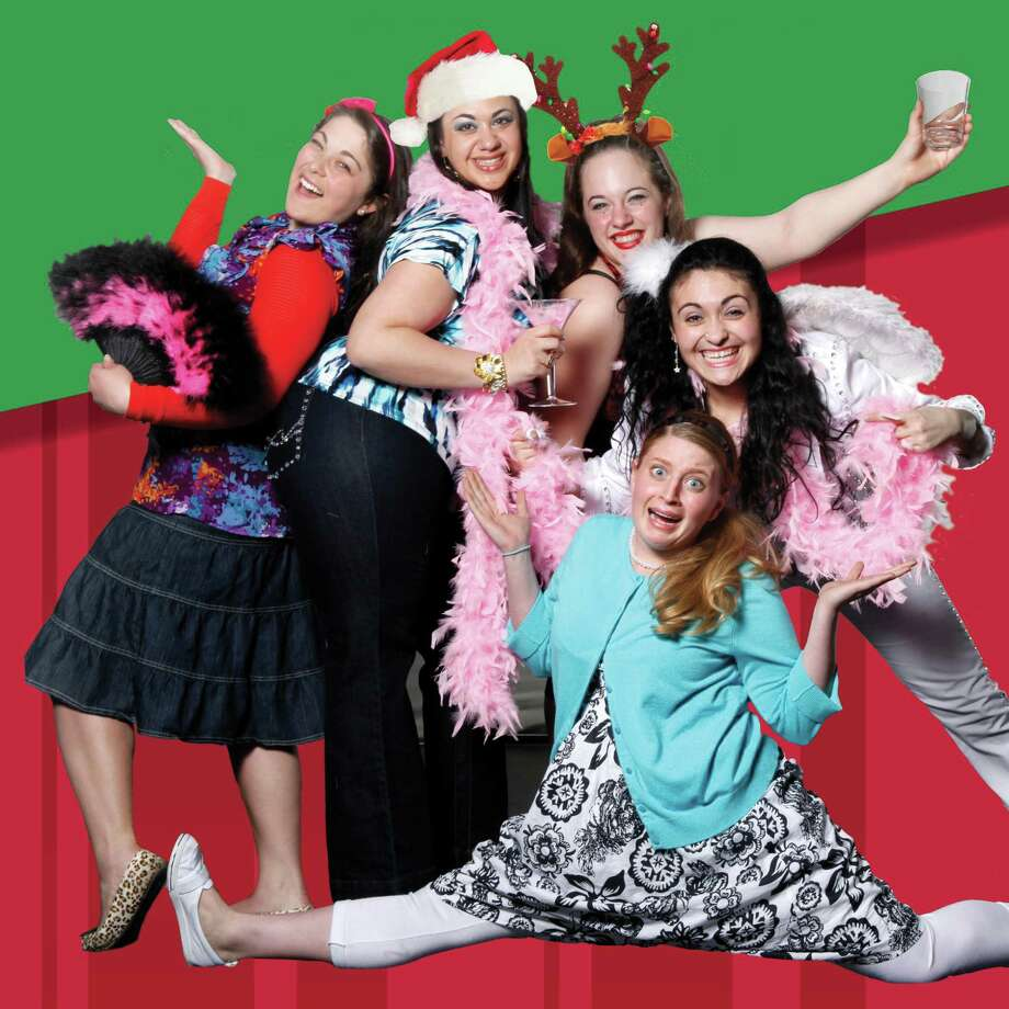 Stars of Twas a Girls Night Before Christmas, coming to the Shubert Dec. 8. Photo: Shubert Theatre / Contributed Photo