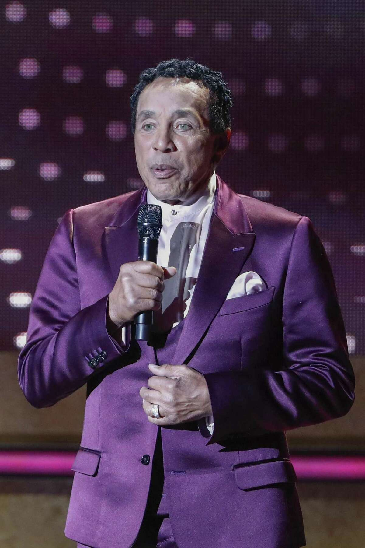 Smokey Robinson at a Nashville event in October.