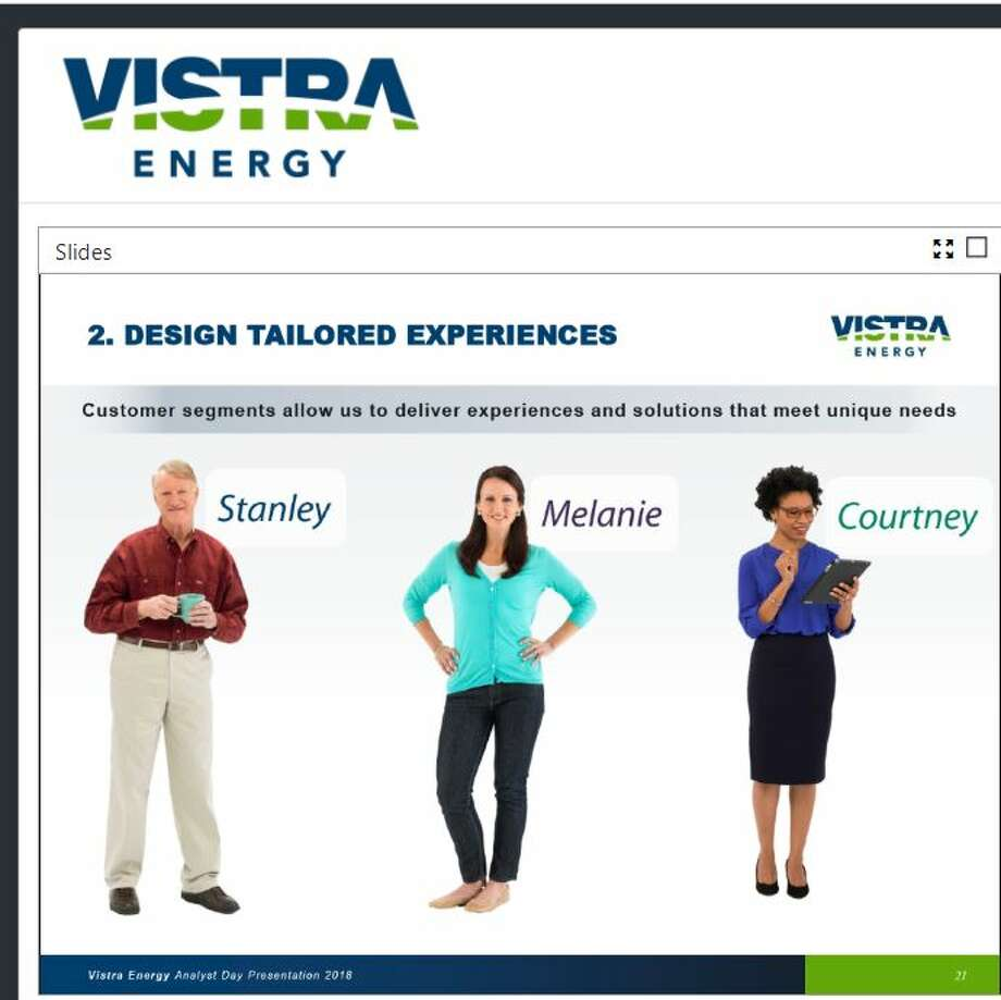 Vistra Energy profiles its customers so its agents can readily identify each customer type.  CONTINUE to see tips on lowering your electric bill. Photo: Vistra Energy
