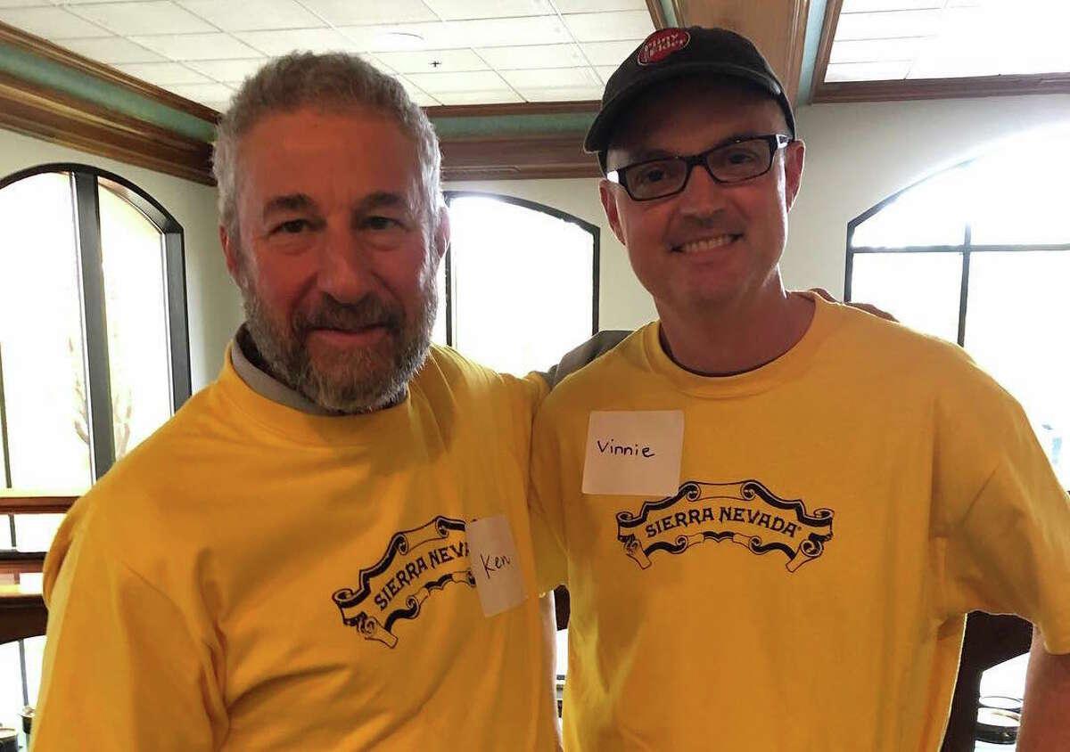 Sierra Nevada Founder Ken Grossman (L) and Russian River Brewing Co-Founder Vinnie Cilurzo (R).
