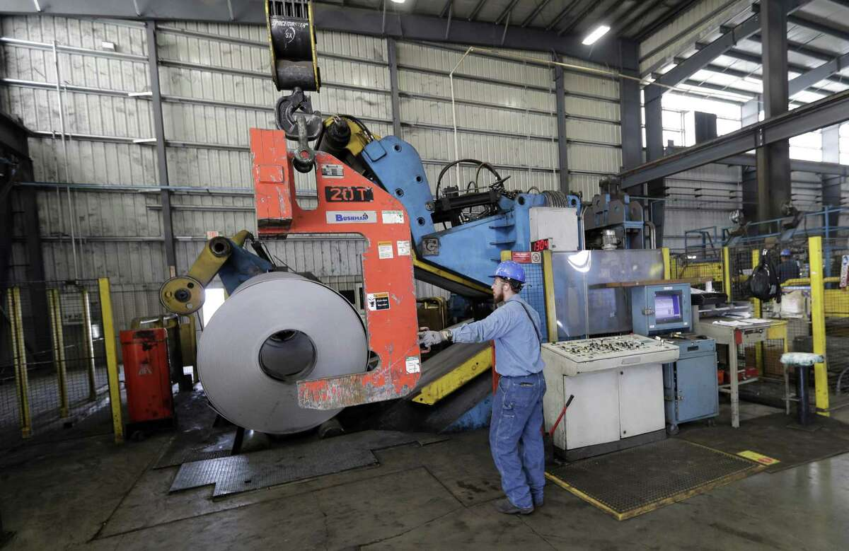 Texas manufacturers cited steel and aluminum tariffs as contributing to a slowdown in activity.
