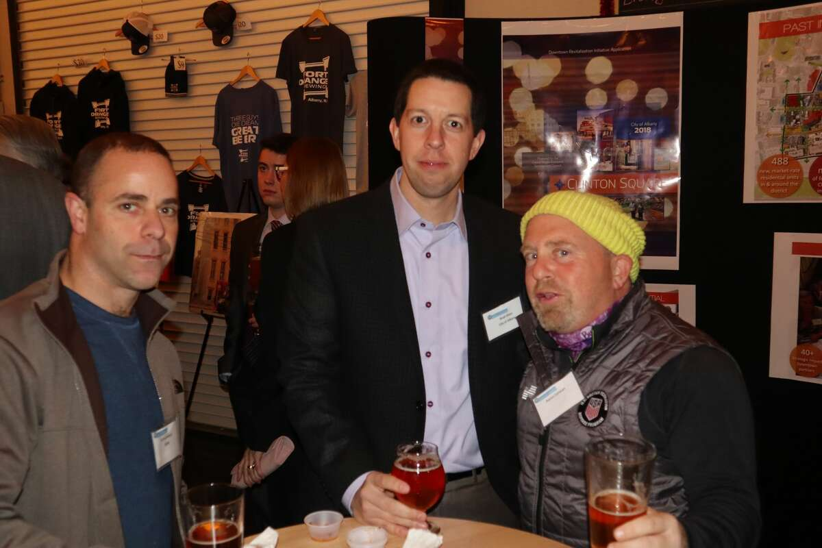 Were you Seen at Capitalize Albany Corporation's Building For Tomorrow 2018 event held at Fort Orange Brewing in Albany on Tuesday, November 27, 2018?
