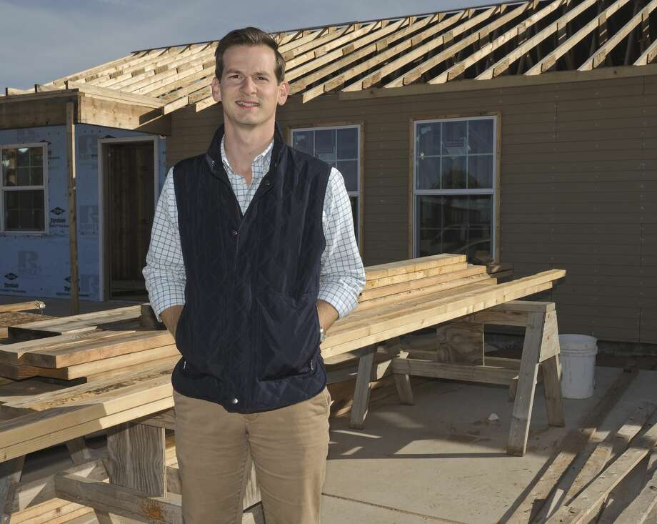 Joey Hopkins, new executive director of Midland Habitat for Humanity, felt called to the position because of his desire to use his passion for something other than profit. Photo: Tim Fischer/Midland Reporter-Telegram