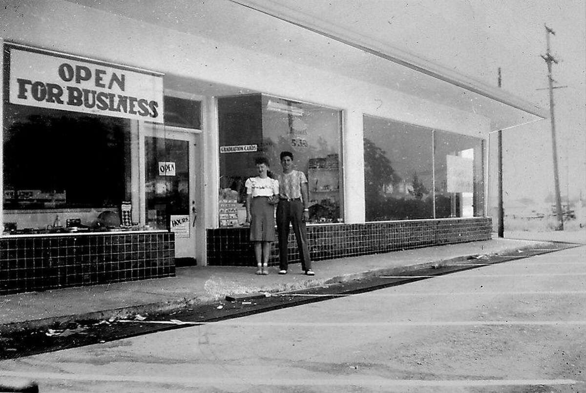 Emanuel Luhn and wife Mildred opened their first store in 1946 in San Leandro. It was a variety store with housewares, hardware and a large toy section.