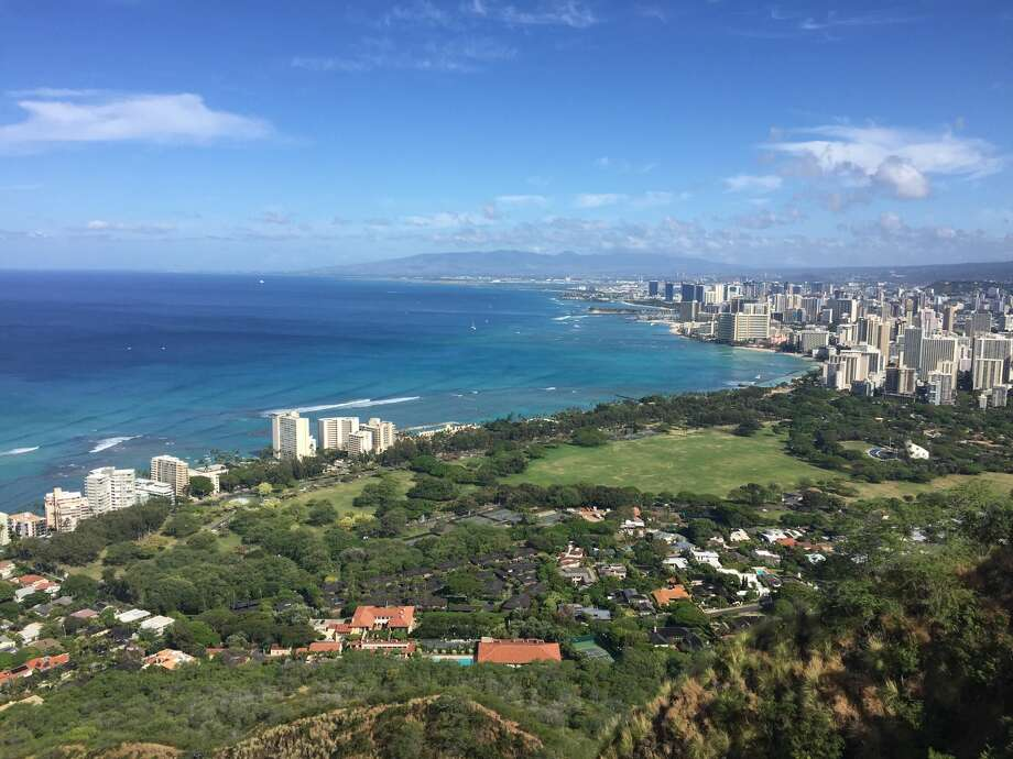 View of Honolulu from Diamond Head Photo: Rich Lopez/Reporter-Telegram