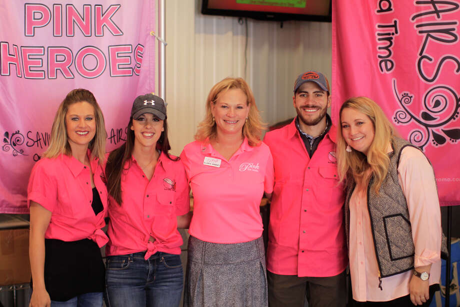 Since its inception seven years ago, Saving True Pairs has raised $1 million for Pink the Basin. Photo: James Durbin/Reporter-Telegram / ? 2018 Midland Reporter-Telegram. All Rights Reserved.