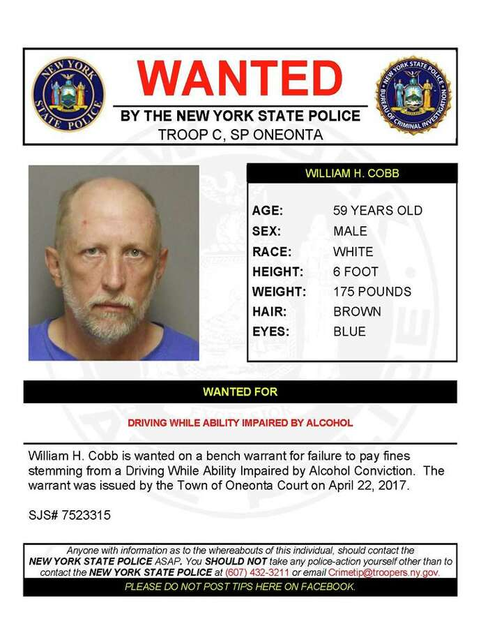 Warrant Wednesday: Troopers hunt for 9 fugitives - Times Union