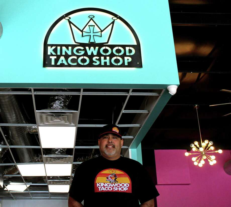 Kingwood Taco Shop Owner Gregory Mata expects to open his business sometime in the spring. Photo: Kaila Contreras / Kaila Contreras