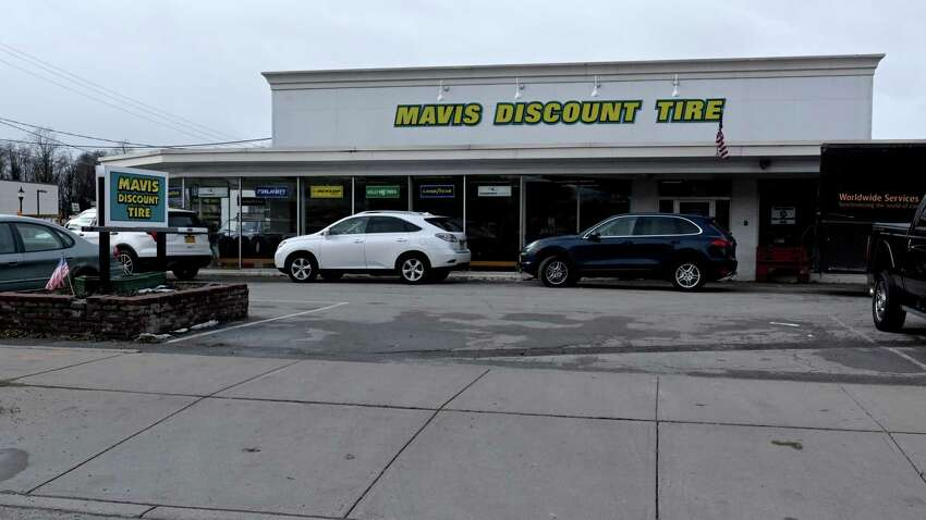 Exterior view of the Mavis Tire store on lower Broadway Wednesday Nov. 28, 2018 in Saratoga Springs, N.Y. (Skip Dickstein/Times Union)