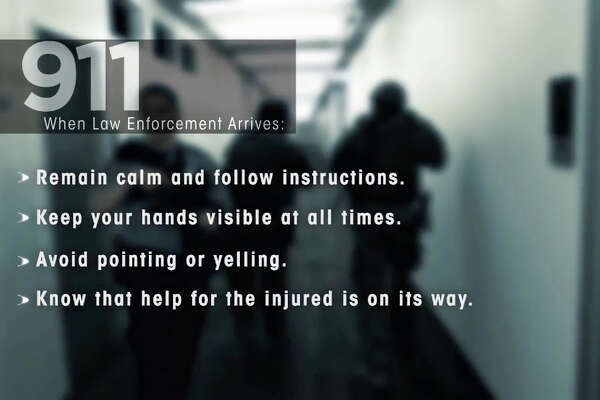 The Department of Homeland Security and the City of Houston offer this advice for surviving an active shooter situation.