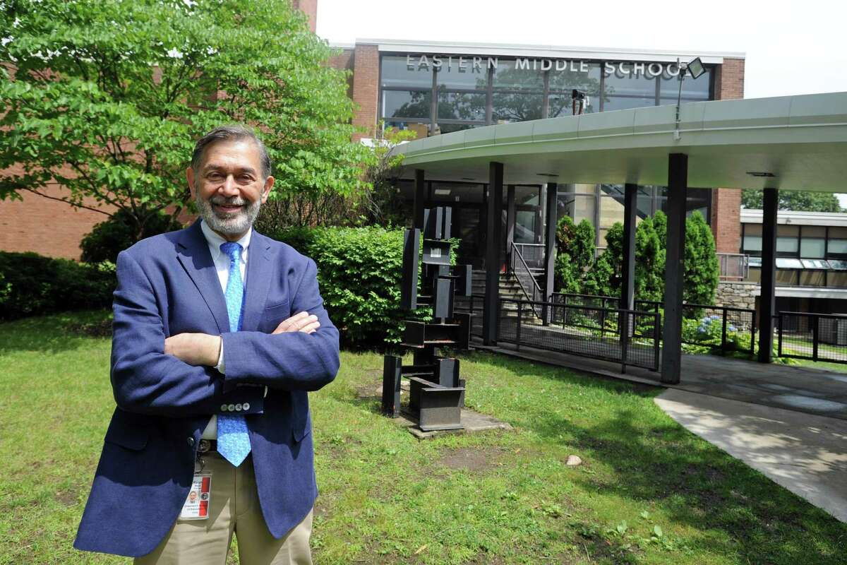 Ralph Mayo is interim superintendent of Greenwich Public Schools.