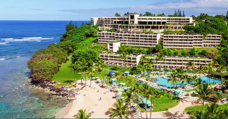 The Princeville Resort -- formerly the St. Regis -- on Kauai.