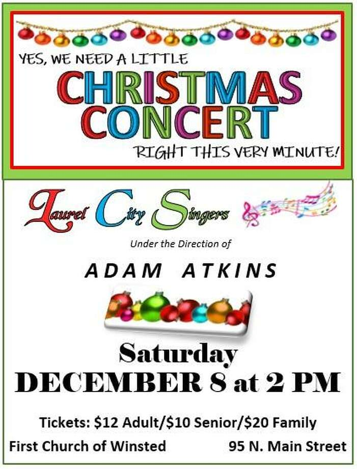 """The Laurel City Singers are performing at """"Need a Little Christmas"""" concert on Saturday, Dec. 8. Photo: Contributed Photo"""