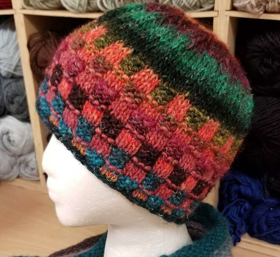 A knitted hat is an easy and popular gift to make, for anyone on your list. Photo: Ginger Balch / Contributed Photo