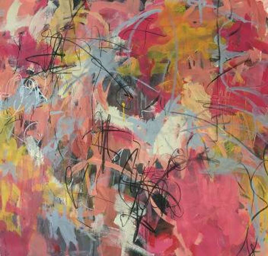 The Loft Gallery is showing an exhibit of recent abstract paintings by Winsted artist, Heather Neilson. Photo: Contributed Photo /