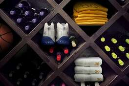 NBA Wine Culture Photo illustration