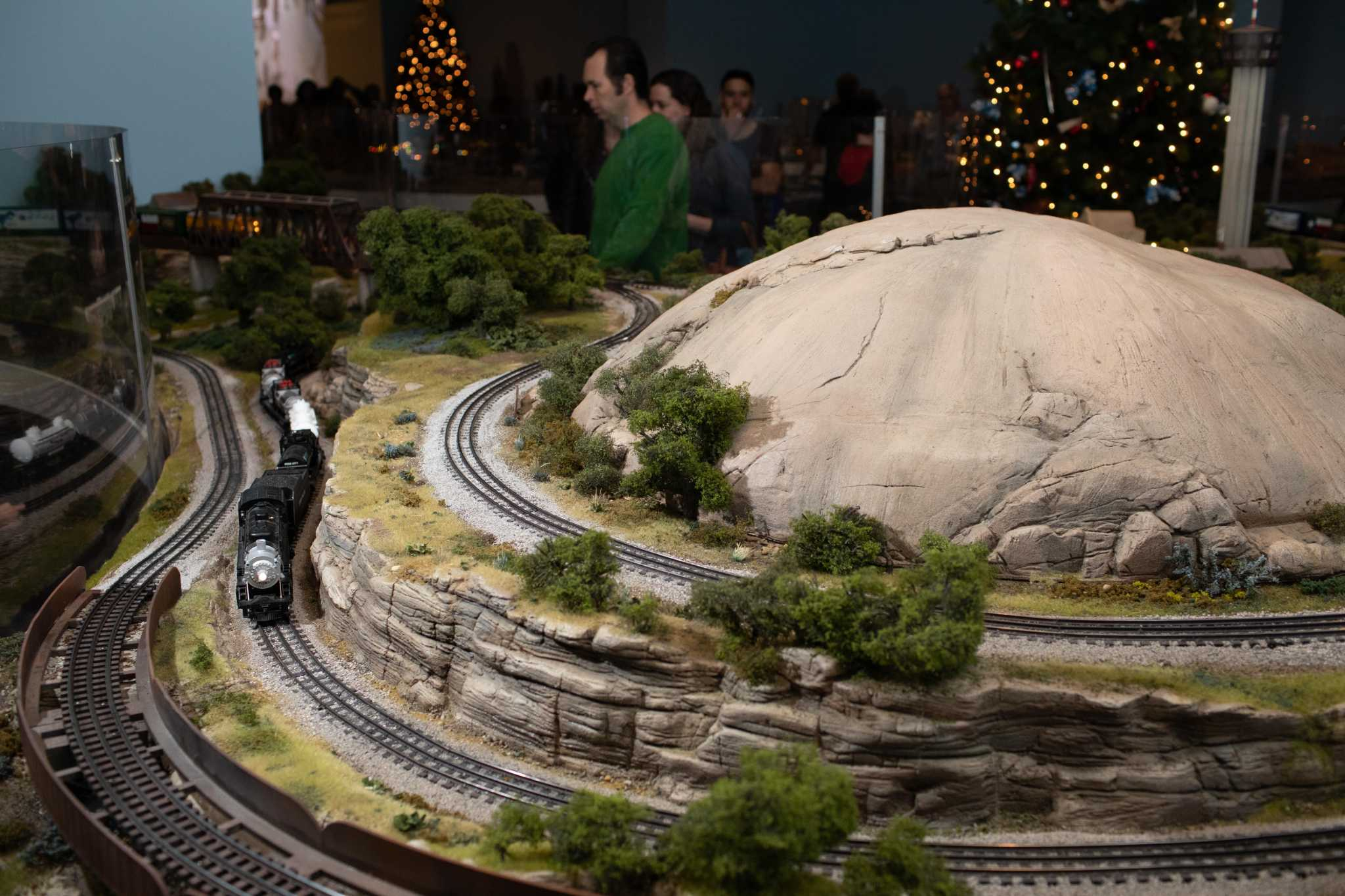 All aboard Christmas train displays in Houston
