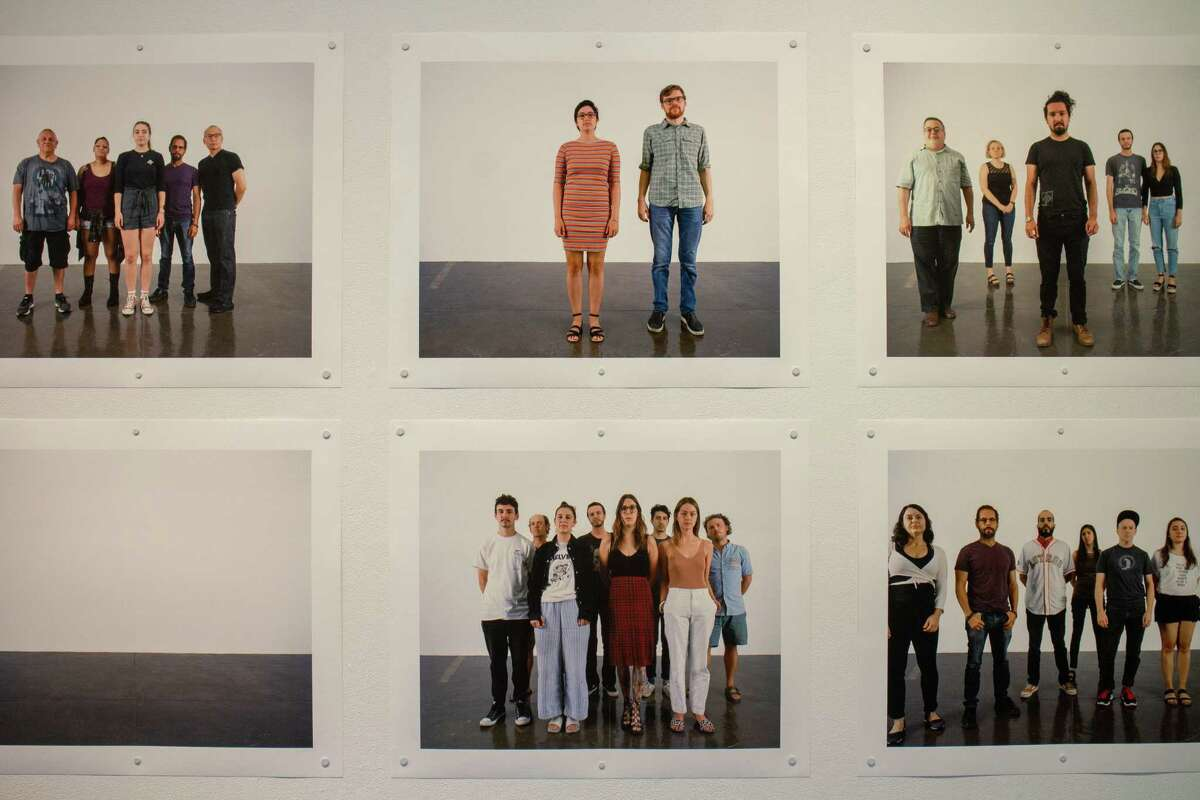 """Clifford Owens' Artpace exhibit """"Peripatetic"""" includes images from the latest iteration of his """"Photographs with an Audience"""" series, which he created during his residency here."""