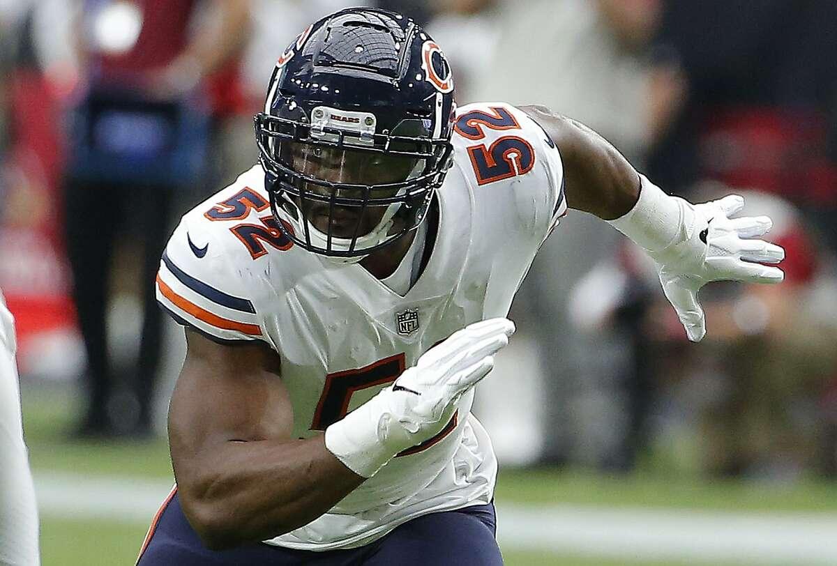 20. Outside linebacker Khalil Mack Trade: Raiders to Bears (2018)
